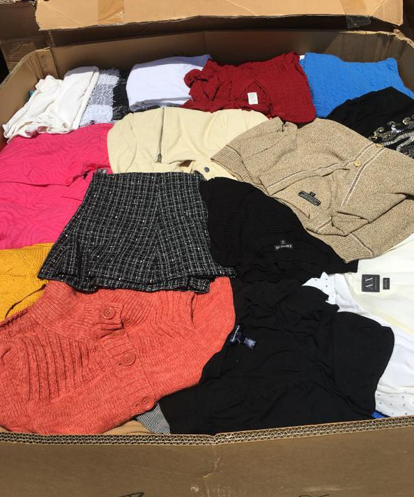 Wholesale Winter Clothing Heavy Overstock Clothes
